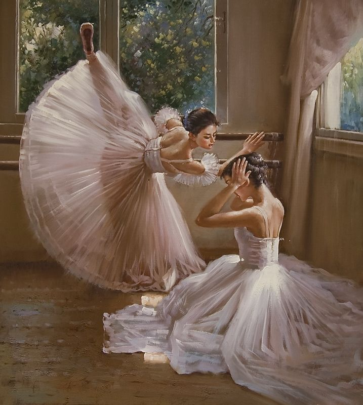 легкое и воздушное...как танец балерины.  Слушая эту песню, сразу представляешь что то.